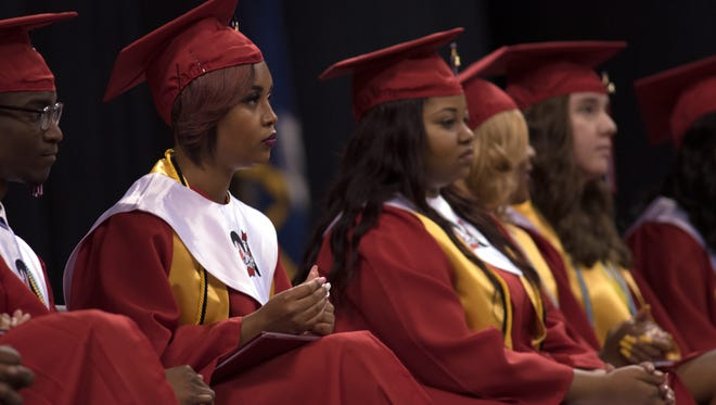 Northside High's 2016 graduation ceremony was May 21 at the Cajundome.