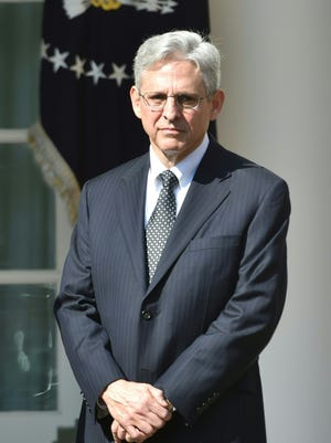 Merrick Garland at the White House on March 16, 2016