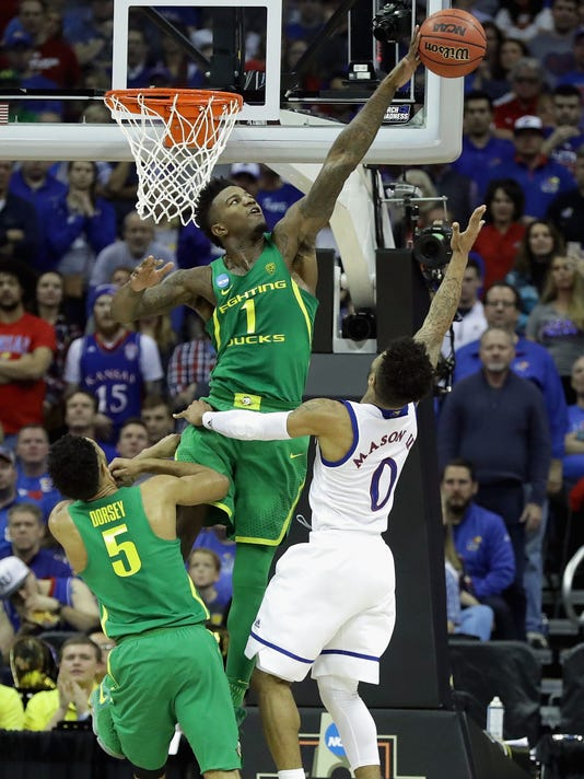 Oregon v Kansas