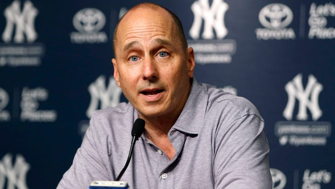 Yankees general manager Brian Cashman.