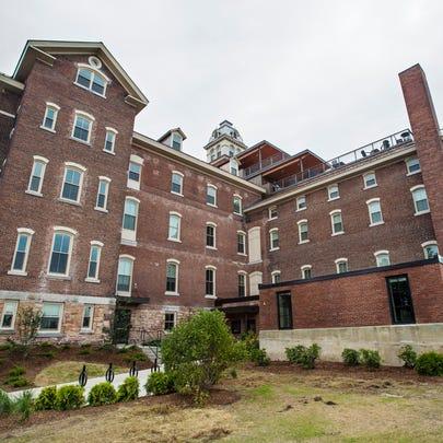 The site of the former Burlington College in Burlington