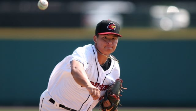 Chih-Wei Hu of Taiwan allowed one run and two hits in six innings of work.