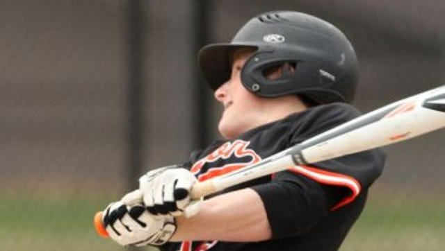 Brighton's Trevor Hopman drove in two runs in a come-from-behind victory at Chelsea in the second game of a doubleheader.