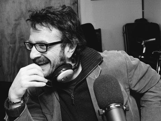 Popular podcast host and comedian Marc Maron will be