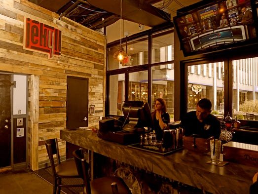 Jekell, the new bar and restaurant on Fountain Square,
