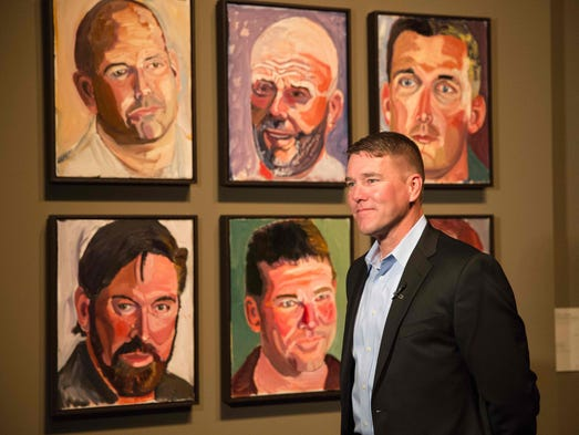 George w bush artist has best seller with 39 portraits of for George bush painting