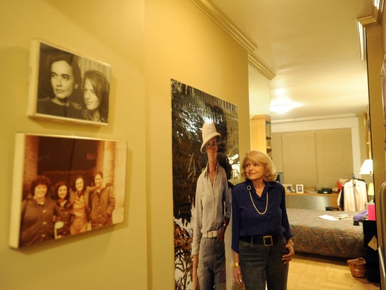 Edie Windsor at home in Greenwich Village in 2012.