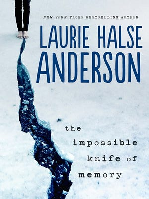 'The Impossible Knife of Memory' by Laurie Halse Anderson is about coping with alcoholism and PTSD.