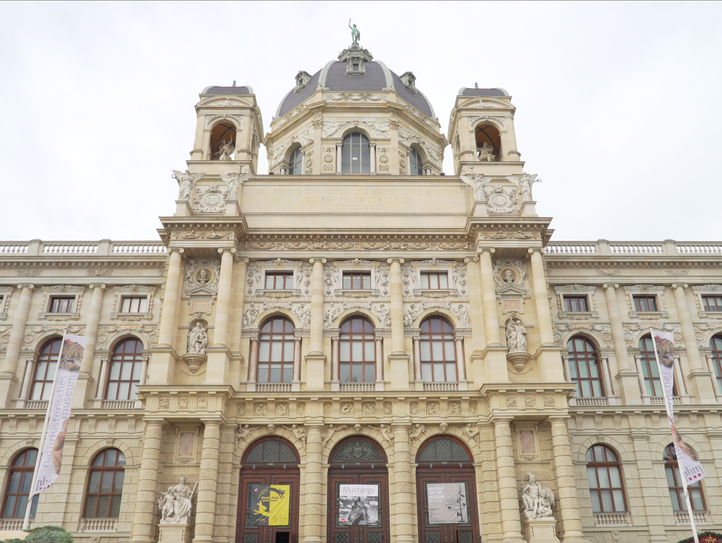 Vienna's Fine Arts Museum and Natural History Museum
