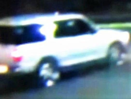 This is the suspected getaway vehicle in the Feb. 8