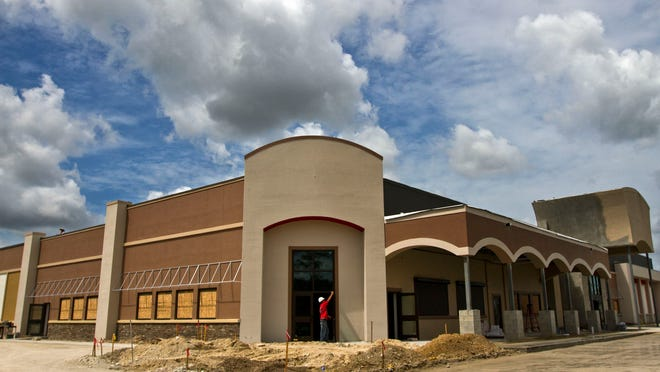 The HeadPinz Fort Myers bowling center is well on its way to completion. It is expected to open in mid-June.