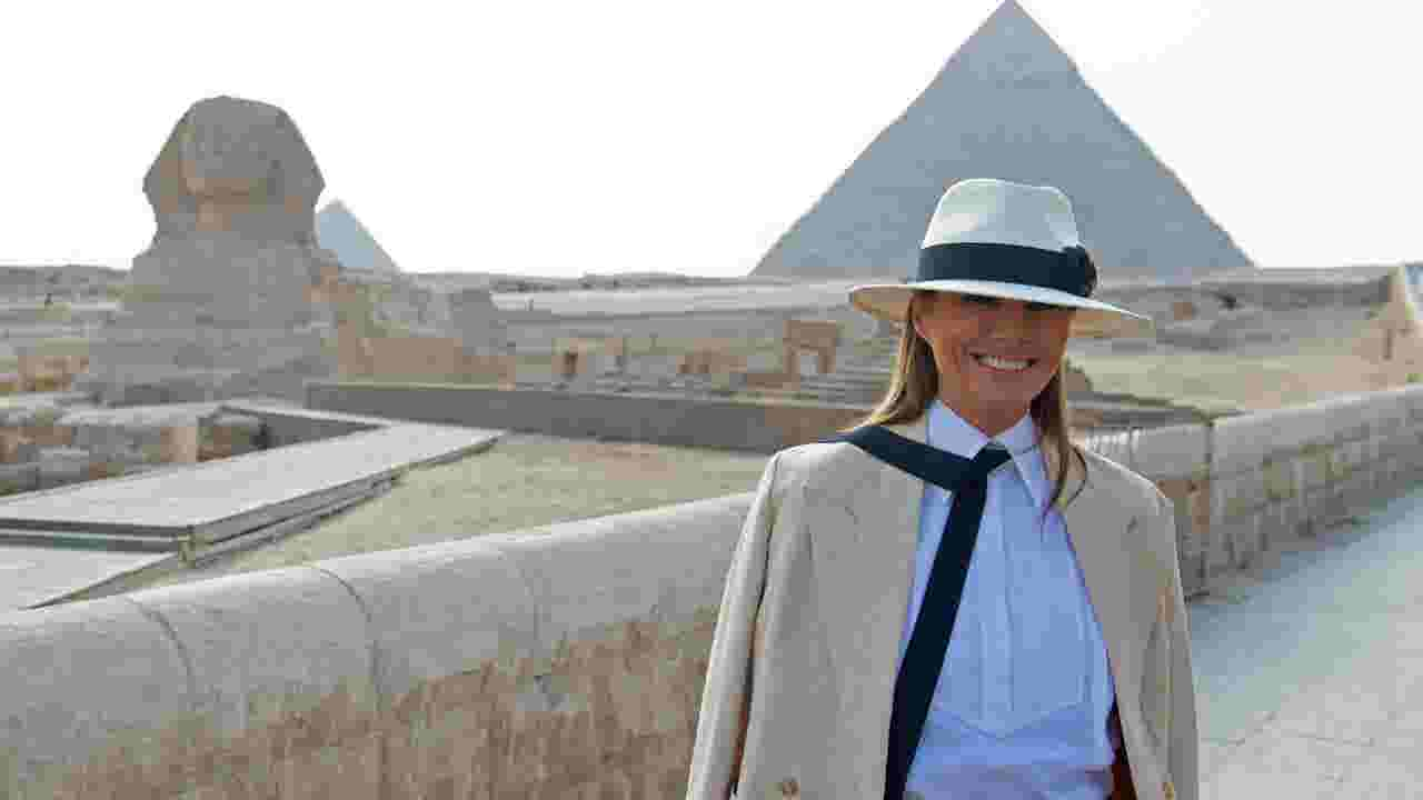 6991ffffbed First lady Melania Trump in Africa   Focus on what I do
