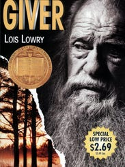 """The book cover for Lois Lowry's """"The Giver"""""""