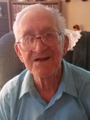 After serving in the army, Albert Barzanti, 97, worked