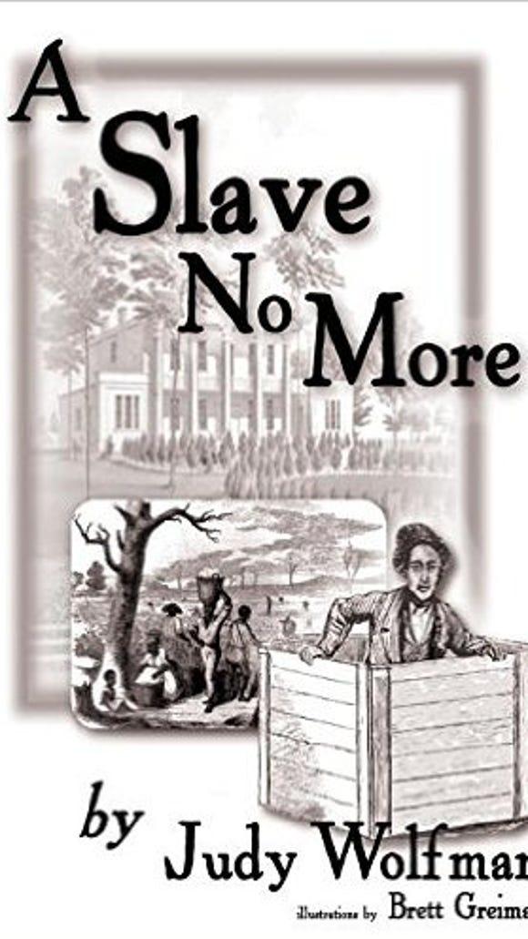 """York countians Judy Wolfman (author) and Brett Greiman (artist) have teamed up to tell the story of Henry """"Box"""" Brown. He received his name after he escaped slavery from the South in a shipping crate."""