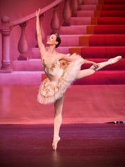 Alicia Le dances in the Stroia Ballet Company's production