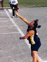 Kim Adams was a four-year NCCAA All-American in women's