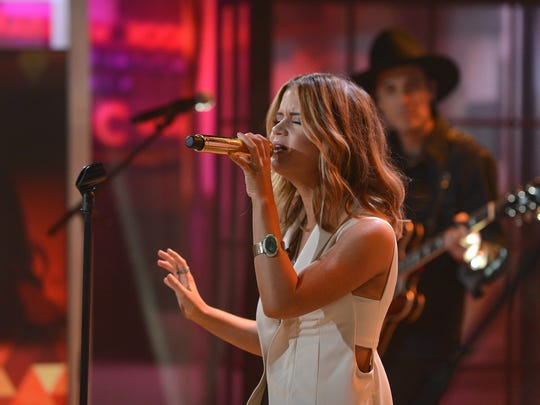 "Maren Morris performs on NBC's ""Today"" show on Tuesday."