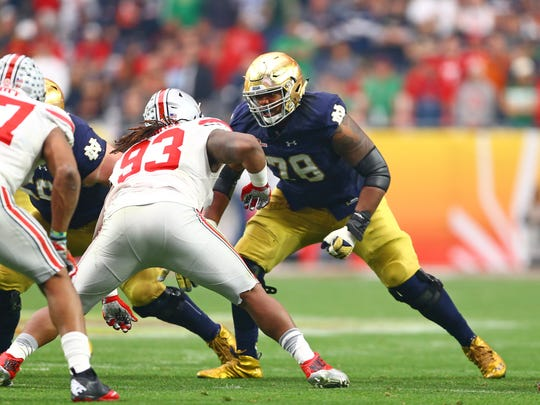 The Cleveland Browns may determine that Notre Dame