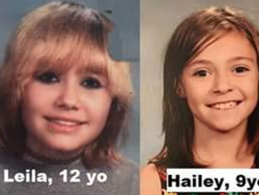 Sisters missing after leaving babysitter's Saturday night