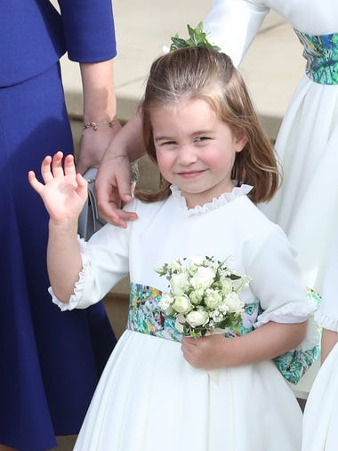 Princess Charlotte of Cambridge is a star who has her