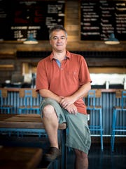 Farm Burger Nashville owner George Frangos at the new restaurant in Hill Center Sylvan Heights.