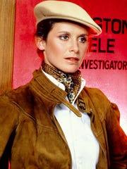 Stephanie Zimbalist as Laura Holt in 'Remington Steele'
