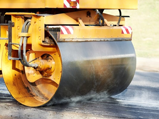 Stock Image - Street Paving
