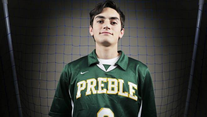 Green Bay Preble's Antonio De Castro is the Press-Gazette Media boys soccer player of the year.