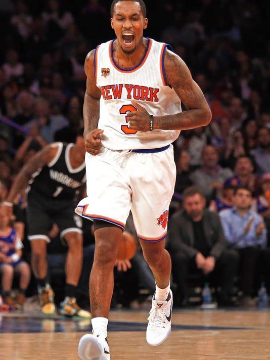 the latest b02ee 05af2 Without Derrick Rose, Knicks' reserve guards get audition