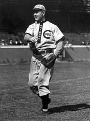 Chicago Cubs player/manager Frank Chance, 1905-1912.