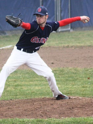 Westland John Glenn senior Brendan Wetmore threw a no-hitter Wednesday against Lincoln Park.