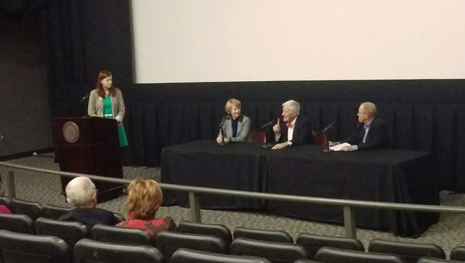 """Age of the Mind"" film panel discusses Florida Governor Cecil Farris Bryant."