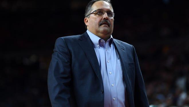 Pistons coach Stan Van Gundy