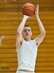 University of Vermont men's basketball freshman Zach McRoberts is one of two forwards in the Catamounts' six-member freshman class.