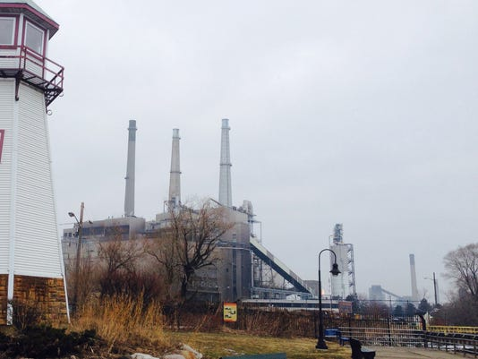 DTE River Rouge power plant