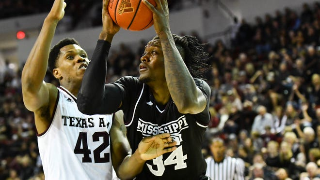 Mississippi State freshman Schnider Herard finished with a career-high 16 points against Texas A&M on Saturday.