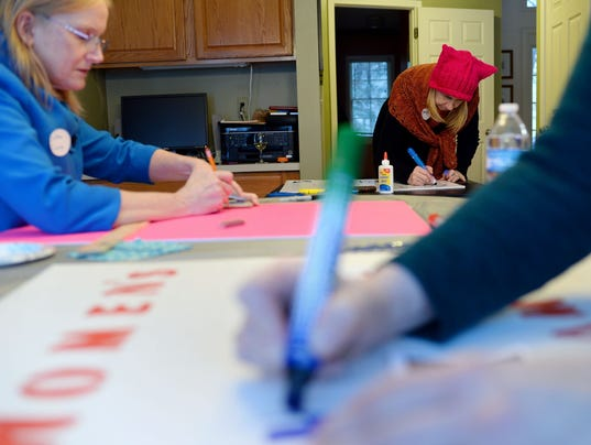 Women's March Sign Party