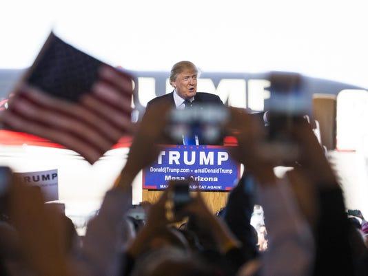 Trump in Mesa