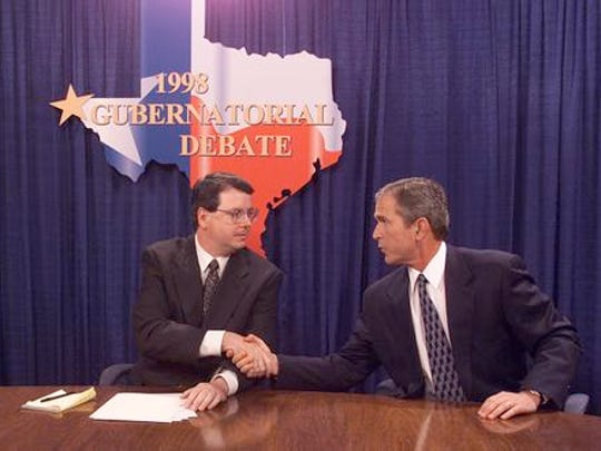 Robert Moore, then the El Paso Times metro editor, moderated the 1988 debate between then-Gov. George W. Bush and Democrat Garry Mauro.