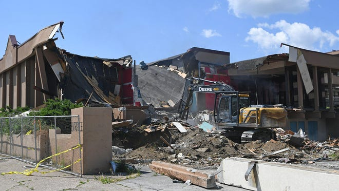 Demolition began June 24  on a portion of the Downtown Erie Hotel, 18 W. 18th St. The property owners plan to renovate the main hotel building, and the project qualifies for city tax breaks.