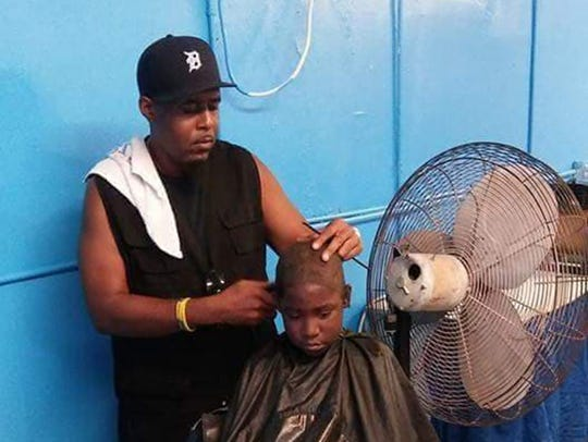 Free haircuts are being offered at the second annual