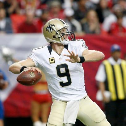 New Orleans Saints quarterback Drew Brees has most of his contract guaranteed.