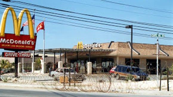 McDonald's at Guantanamo Bay Naval Base, Cuba.