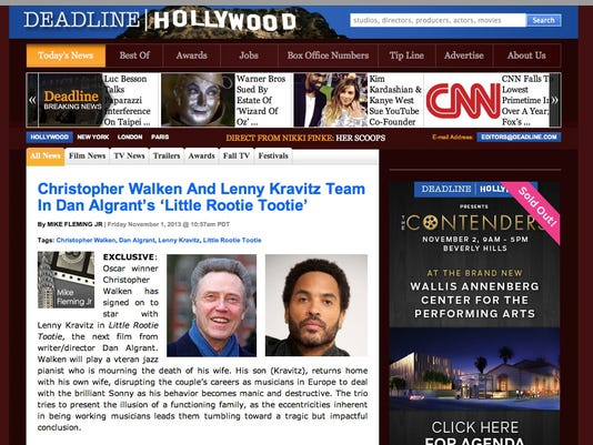 Deadline Hollywood website