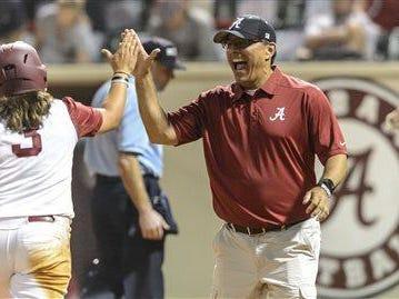 Alabama head coach Patrick Murphy hope the Crimson Tide's streak of hosting a postseason regional doesn't end.