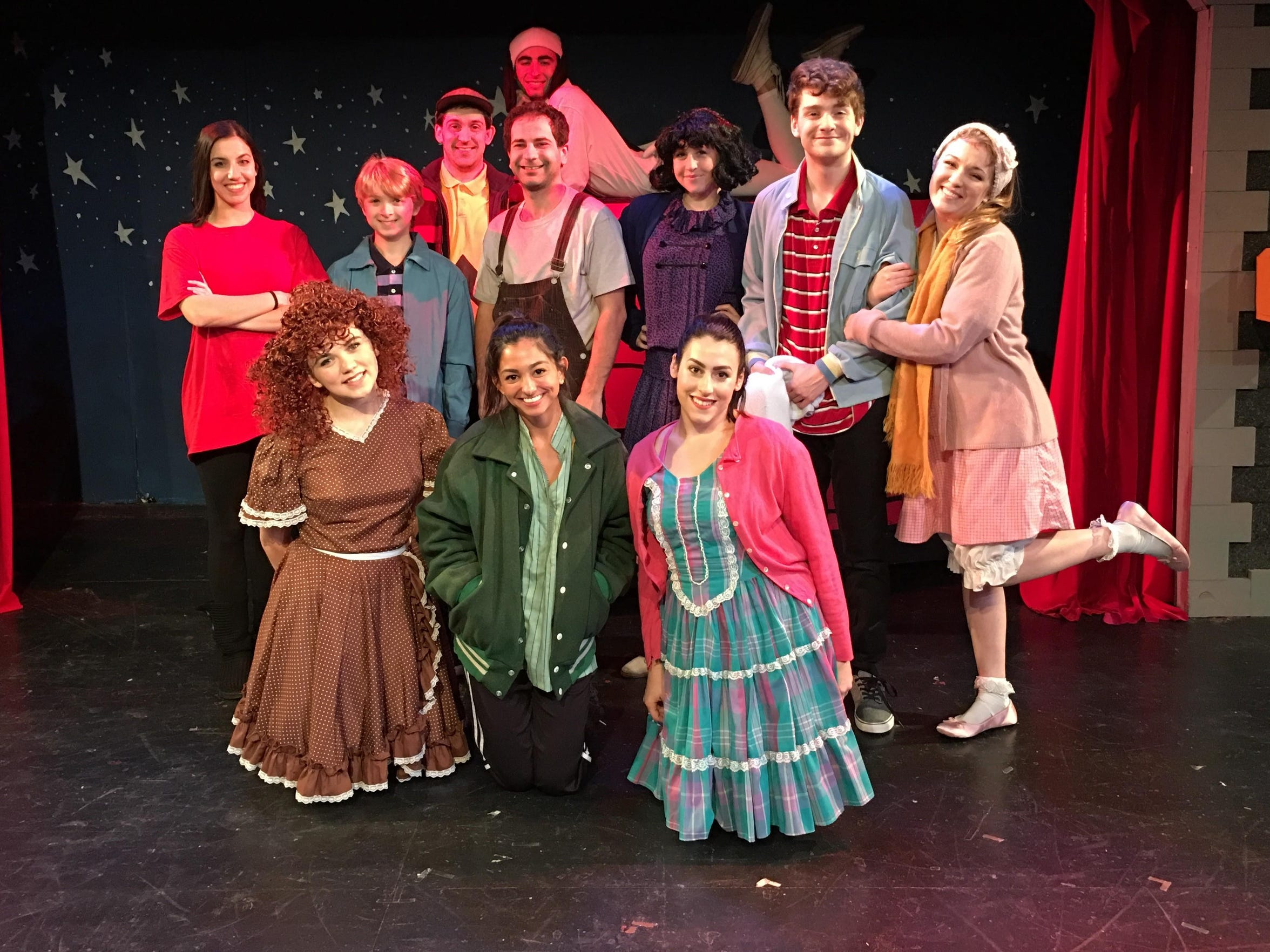 "Cider Mill Playhouse's ""A Charlie Brown Christmas"" casr"