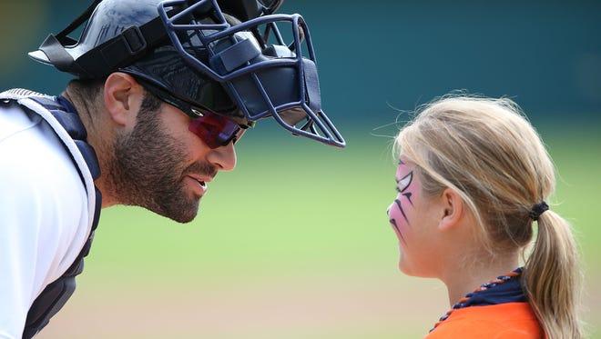 Alex Avila of the Detroit Tigers.