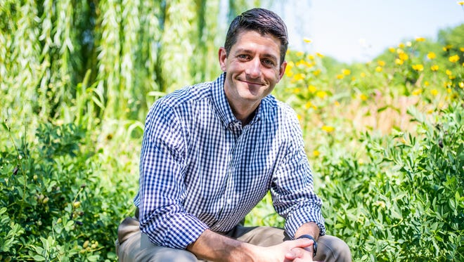 GOP Rep. Paul Ryan in Janesville, Wis., on Aug. 7, 2014.