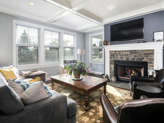 The Living Room offers amazing decorative ceilings